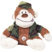 COLIN THE COMBAT CHIMP SOFT TOY